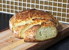 No-Knead Jalapeno and Cheese Bread http://southernfood.about.com/od/yeastbreads/r/No-Knead-Jalapeno-and-Cheese-Bread.htm
