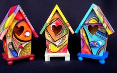 Krug's Studio: The Case Between An Abstract Birdhouse and an Abst...