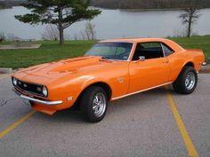 1976 chevy camaro orange | 1968 Chevrolet Camaro SS picture, exterior