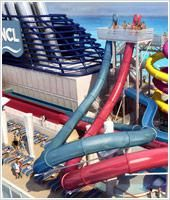 Aqua Park on board Norwegian Breakaway.