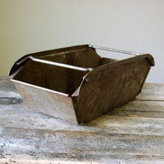 Vintage Heavy Duty Industrial Draw Bin Box by CountryAnthropology, $60.00