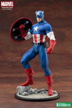 Marvel Comics Captain America Modern Myth ArtFX Statue Updated Images #Marvel