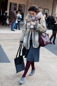 i like fur, so long as it is vintage.