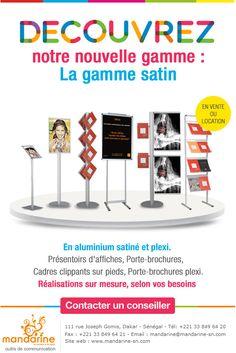 newsletter Mandarine, outils de communication zoom sur les présentoirs (novembre 2012)