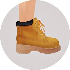 SIMS4 marigold: Child_Hiking Boots_unisex_하이킹 부츠_어린이 남녀 공용 신발