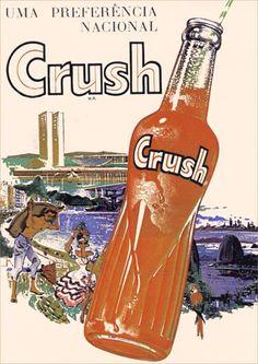 10170 - BEBIDAS - CRUSH 1964 - Uma preferência Nacional - 29x41-