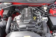Under the hood of the 2012 Hyundai Genesis Coupe.  Featuring the 2.0T Turbo engine with 210 horsepower.