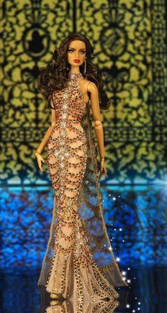Fashion Dolls, Fashion Dresses, Barbie Miss, Barbie Fashionista Dolls, Barbie Gowns, Glamour Dolls, African American Dolls, Black Barbie, Barbie Collection