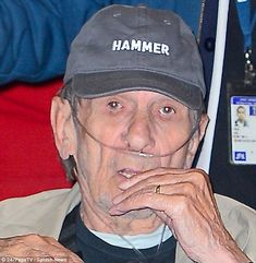 Taking to Twitter, Leonard said: 'I quit smoking 30 yrs ago. Not soon enough. I have COPD. Grandpa says, quit now!! LLAP (Long Live and Pros...