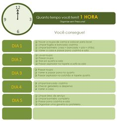 Organize sem Frescuras | Rafaela Oliveira » Arquivos » Plano de limpeza e organização da casa em etapas