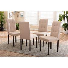 Baxton Studio Side Chair (Set of 4)