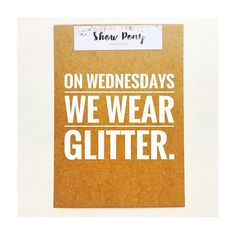 ...and you CAN sit with us.  #meangirls #glitterlife