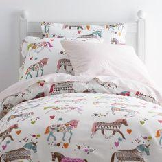 Carousel Percale Bedding Collection