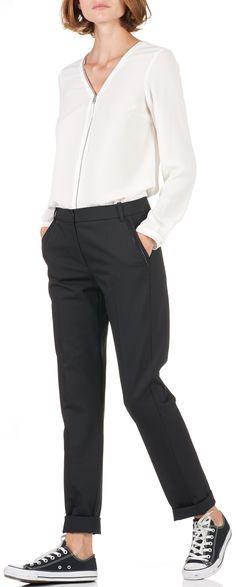 24 Pantalon En Tableau Du Cigarette Images Noir High Meilleures wqw4AxzU