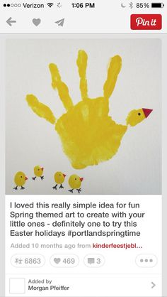 Art Objective: Given paint, students will be able to create their own animal with their handprint Goals: To develop fine motor skills