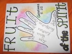 Also cute to use the childrens hands for tracing and then adapting this idea for the verse.