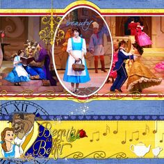 Beauty and the Beast Show - Page 2 - MouseScrappers.com