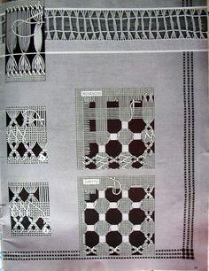 Lene Richelieu e Bainha Aberta: Pontos básicos de Bainha Aberta Sewing Machine Embroidery, Sewing Stitches, Hardanger Embroidery, Cross Stitch Embroidery, Drawn Thread, Cutwork, Hobbies And Crafts, Hand Stitching, Needlework
