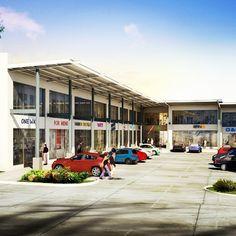 30 locales comerciales de 126m2 a 482m2. Los locales cuentan con doble altura y mezzanine. Adicional, 83 estacionamientos.