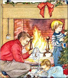 eloise wilken christmas   Baby's First Christmas ~ Eloise Wilkin