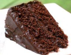 Bolo de Chocolate Molhadinho - Receita do Dia