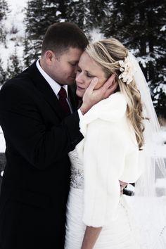 Wrap for a winter bride