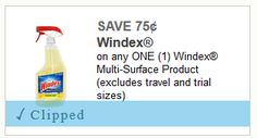 NIce Deals on Scrubbing Bubbles, Windex and Glade Products starting 04-30 at CVS