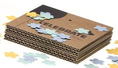 Confetti That Grows Into Flowers, After Being Thrown - DesignTAXI.com