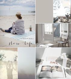 Harmony and design: moodboard Wabi Sabi, Nordic Living, Slow Living, Colour Board, Home And Deco, Mood Boards, Design Inspiration, Moodboard Inspiration, Minimalism