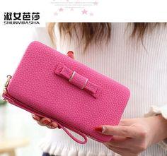 wallet mobile high-capacity students SHUNVBASHA brand cakes hot like sell bowknot lovely long female edition han