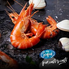 Foodie Fact!    Cooked crustaceans turn red because the blue and yellow pigments in the mottled shells give way to the red pigments, which are plentiful but masked until the heat releases them.  PRODUCT CODE:  202753 - Frozen Raw Ocean King Prawns