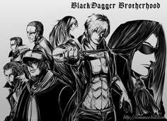 Black Dagger Brotherhood by romancehills.deviantart.com on @DeviantArt