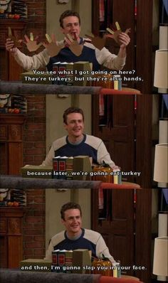 Thanksgiving How i met your mother
