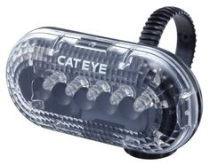 Cateye TL-LD150 LED Bicycle Tail and Safety Light (White)