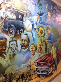 Historic Mural in Clayton, NC
