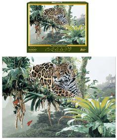 Temple of The Jaguar 1000-Piece Puzzle Pastime Puzzles