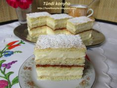 Tündi konyha: Mimóza szelet Diy Food, Vanilla Cake, Food And Drink, Baking, Condensed Milk, Recipes, Foods, Drinks, Food Food