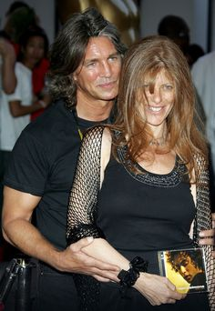 Eric Roberts and his wife, Eliza