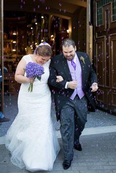 Boda temática morado  Purple wedding theme Arroz morado Purple rice