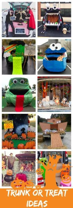 10 Trunk or Treat ideas for #Halloween