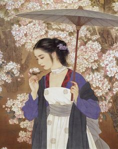 (China) by Zhao Guojing ) & Wang Meifang ). painting on silk. Art Chinois, Art Asiatique, Illustration Mode, Botanical Illustration, China Art, Classical Art, Chinese Painting, Ancient Art, Japanese Art