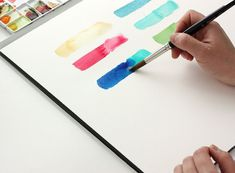 Watercolor Basics by Yao Cheng via The Alison Show