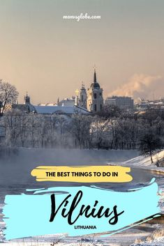 Lithuania's captial is a seriously underrated city break. one of the Baltic's most beautiful cities, I recently spent 3 days exploring Vlnius - Here are the best things to do. Europe Travel Tips, Travel Guides, Travel Destinations, Holiday Destinations, Italy Travel, Travel Advice, European Destination, European Travel, Lithuania Travel