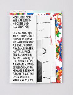 ICH LIEBE DICH WIE APFELMUß 2013 by I LIKE BIRDS , via Behance