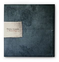 Olafur Arnalds Found Songs - denim music cd cover \\