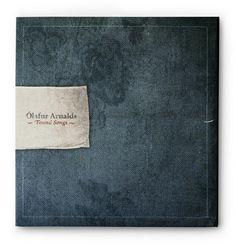 Olafur Arnalds Found Songs - denim music cd cover \\