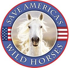 Save America's Wild Horses - Get the badge for your website!