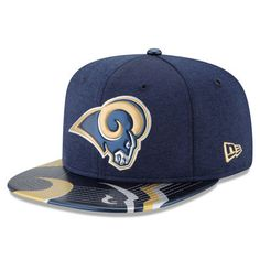 Los Angeles Rams New Era 2017 NFL Draft On Stage Original Fit 9FIFTY  Snapback Adjustable Hat - Navy 67db7d430