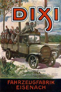 Fahrzeugfabrik Eisenach VEB Automobilwerk Dixi Plakat Braunbeck Motor A3 011 in Antiquitäten & Kunst, Plakate & Kunstdrucke, Plakate | eBay!