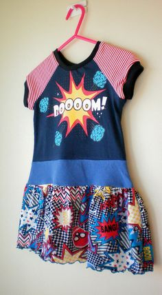 Comic book dress. #pinhonest